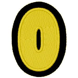 Nº0 amarelo