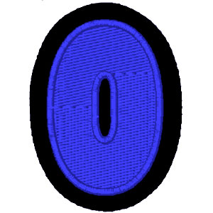 Nº0 azul