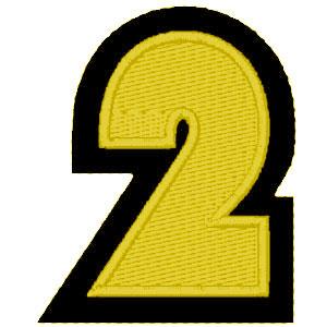 Nº2 amarelo
