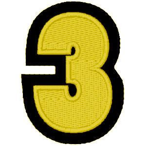 Nº3 amarelo