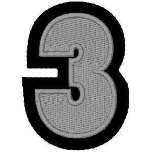 Nº3 cinza