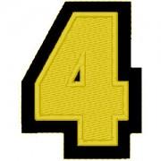 Nº4 amarelo