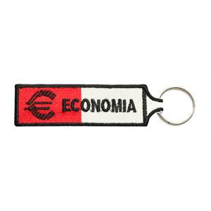 Emblemas Ensino Curso Porta-Chaves Economia