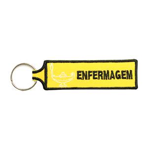 Emblemas Ensino Curso Porta-Chaves Enfermagem