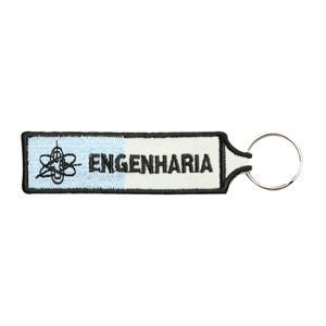 Emblemas Ensino Curso Porta-Chaves Engenharia