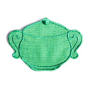 Emblemas Living Louça Açucareiro Pequeno Verde