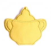 Emblemas Living Louça Açucareiro peq. Amarelo