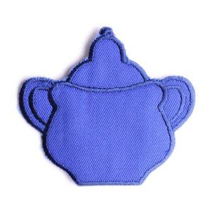 Emblemas Living Louça Açucareiro peq. Azul