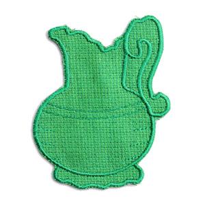 Emblemas Living Louça Jarro pequeno Verde
