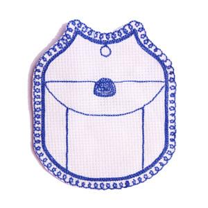 Emblemas Living Louça Saleiro Cornely Azul
