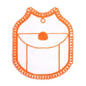 Emblemas Living Louça Saleiro Cornely Laranja