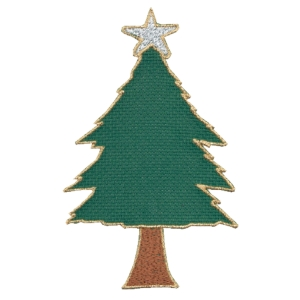 Emblemas Living Natal Árvore quadr.verde
