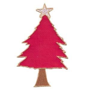 Emblemas Living Natal Árvore quadr.verm