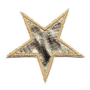 Emblemas Living Natal Estrela Dourada