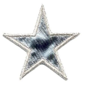 Emblemas Living Natal Estrela Prateada