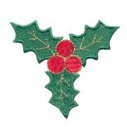 Emblemas Living Natal Folhas azev. ter-ades.
