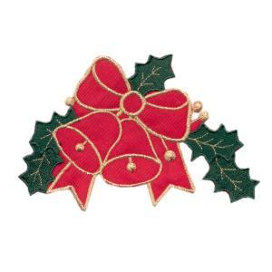Emblemas Living Natal Laço + Sinos Vários