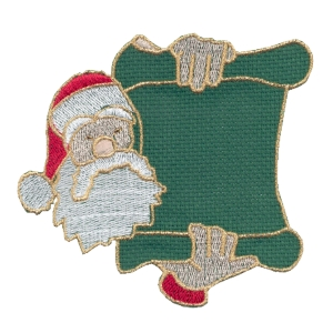 Emblemas Living Natal Pai Natal mens verde