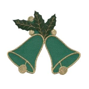 Emblemas Living Natal Sinos Natal Qua verde