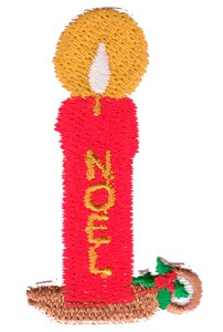 Emblemas Living Natal Vela Noel