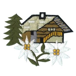 Emblemas Natureza Flor Casa com flores Austriacas