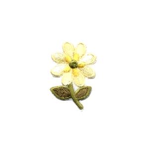 Emblemas Natureza Flor dupla Amarela