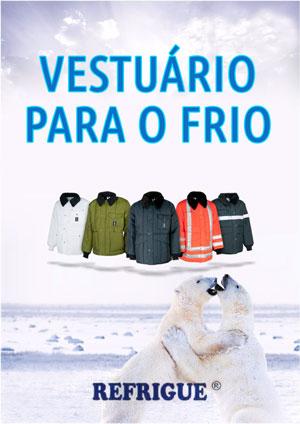 Vestuário para o frio