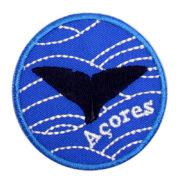 Emblema Redondo Locais Baleia Açores Portugal