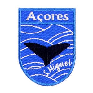 Emblemas Locais Baleia São Miguel Açores Portugal