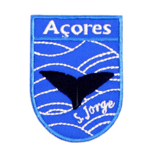 Emblemas Locais Baleia São Jorge Açores Portugal