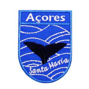 Emblemas Locais Baleia Santa Maria Açores Portugal