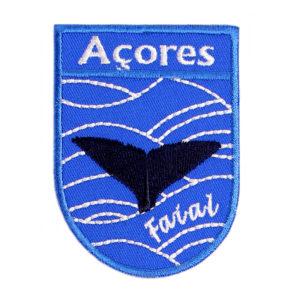 Emblemas Locais Baleia Faial Açores Portugal