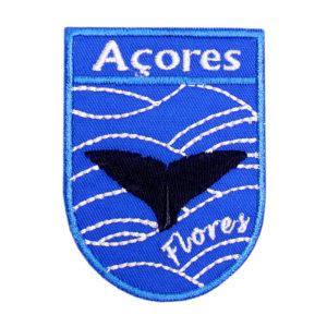 Emblemas Locais Baleia Flores Açores Portugal
