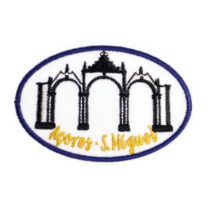 Emblemas Locais Portas da Cidade, Ponta Delgada, São Miguel Açores Portugal
