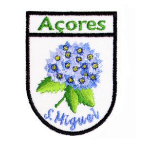 Emblemas Locais Hortênsia São Miguel Açores Portugal