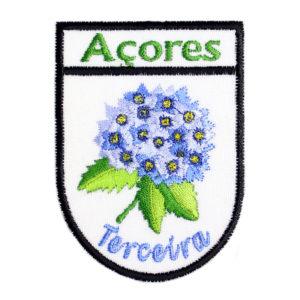 Emblemas Locais Hortênsia Terceira Açores Portugal