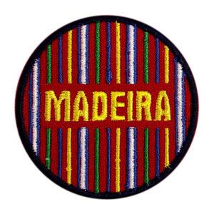 Emblema Redondo Locais Padrão Trajes Madeira Portugal
