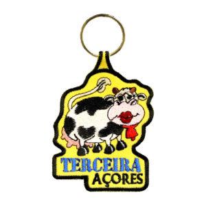 Porta-Chaves Vaca frente Terceira Açores