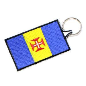Porta Chaves Bordado Bandeira Região da Madeira