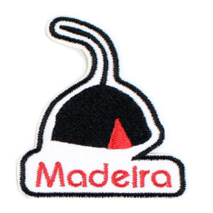 Emblema Bordado Barrete Madeirense