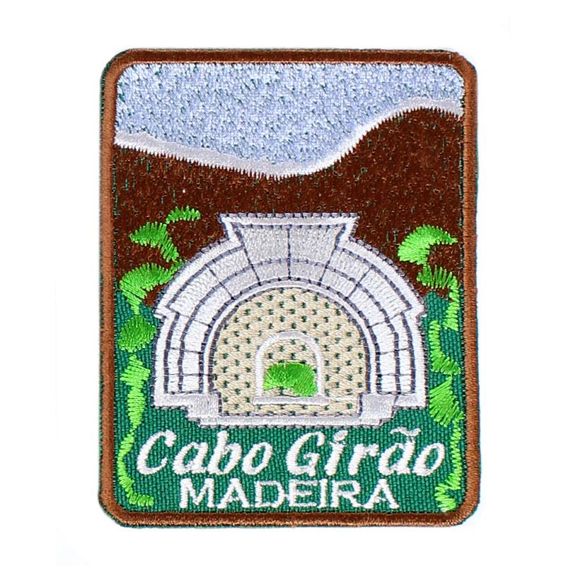 Emblema Bordado Cabo Girão Madeira Portugal