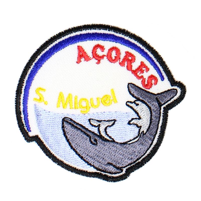 Emblema Baleia Golfinho Açores São Miguel