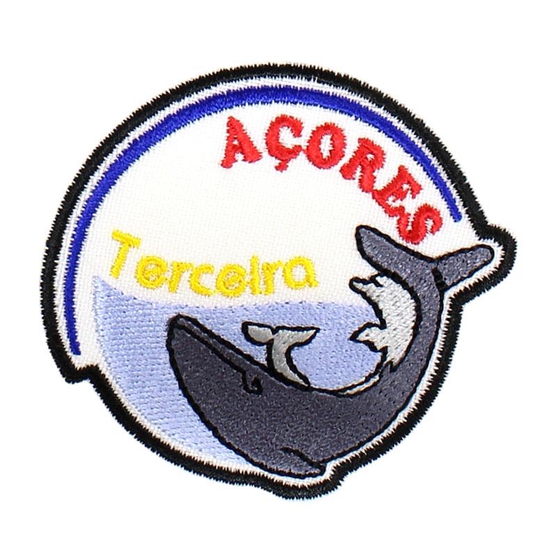 Emblema Baleia Golfinho Açores Terceira