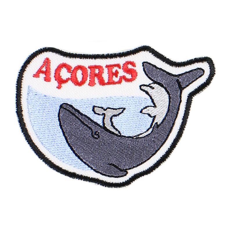 Emblema Açores Baleia e Golfinho