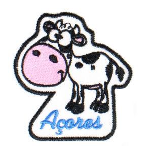 Emblema recortado Vaquinha dos Açores