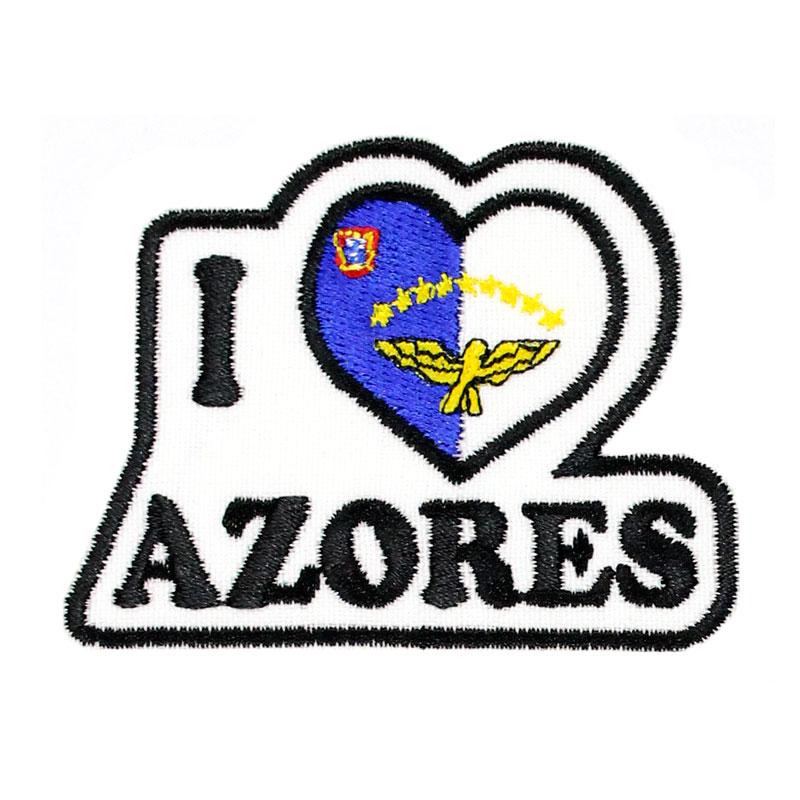 Emblema I Love Azores Bandeira dos Açores