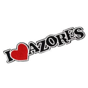 Emblema I Love Azores Preto