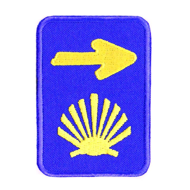 Emblema Bordado Caminho Santiago de Compostela