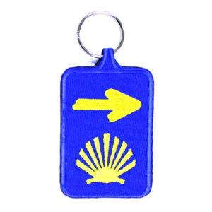 Porta-Chaves Bordado Caminho Santiago de Compostela