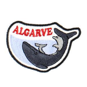 Emblema Baleia e Golfinho Algarve Portugal